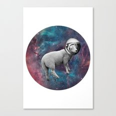 The Space Sheep 2.0 Canvas Print