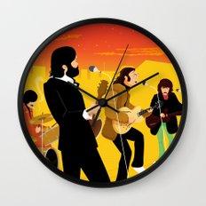 Fab Rooftop Concert Wall Clock
