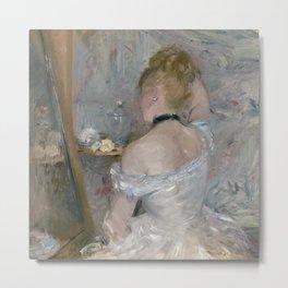Woman at Her Toilette, 1875/80, Berthe Morisot Metal Print