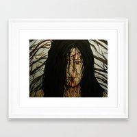 evil dead Framed Art Prints featuring Evil Dead by Lydia Dick