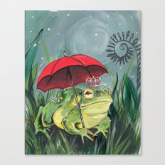 Rainy day Prince Canvas Print