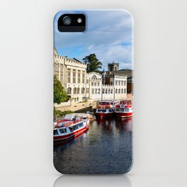 York City Guildhall and river Ouse iPhone Case