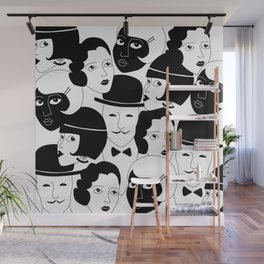 20s Glam Wall Mural