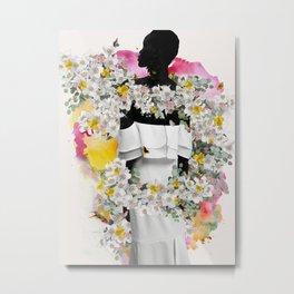 Cora flowers Metal Print