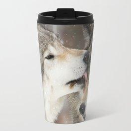 Wolf Kisses Travel Mug