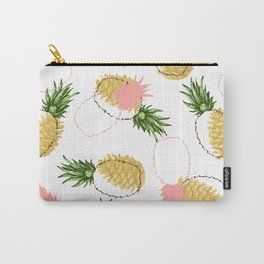 Pineapples & Pine Cones #society6 #decor #buyart Carry-All Pouch