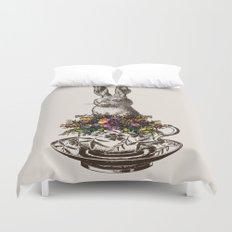 Rabbit in a Teacup Duvet Cover