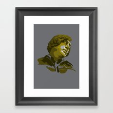 Villains: Anton Chigurh Framed Art Print