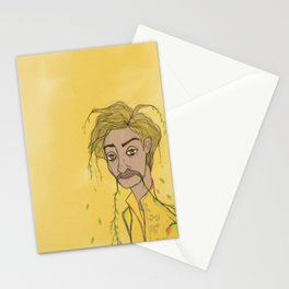 Yellow Not So Mellow Stationery Cards