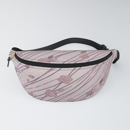 Creeping Flower & Leaves 6 Fanny Pack