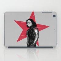 derek hale iPad Cases featuring Winter S. Derek  by Finduilas