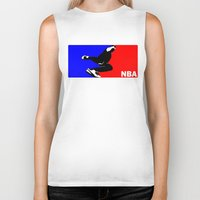 nba Biker Tanks featuring NBA National Bboy Association by Funky House