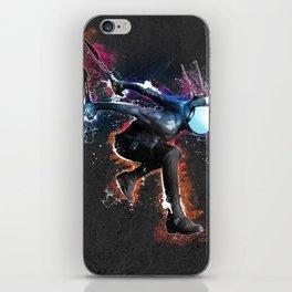 Static attack iPhone Skin