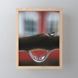 Smily windows Framed Mini Art Print