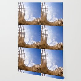 Metropol Parasol wooden structure in Seville, Spain Wallpaper