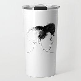 Quiff Travel Mug