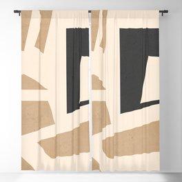 Minimal Abstract Art 51 Blackout Curtain