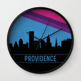 Providence Skyline Wall Clock