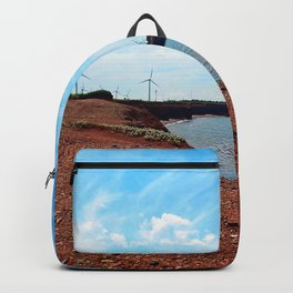 Cliffside Wind Turbines Backpack