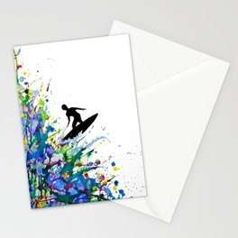 A Pollock's Point Break Stationery Cards