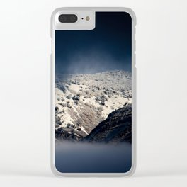 Looking Through The Mist Clear iPhone Case