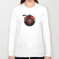 super hero Long Sleeve T-shirts featuring Super Hero by Greene Graphics