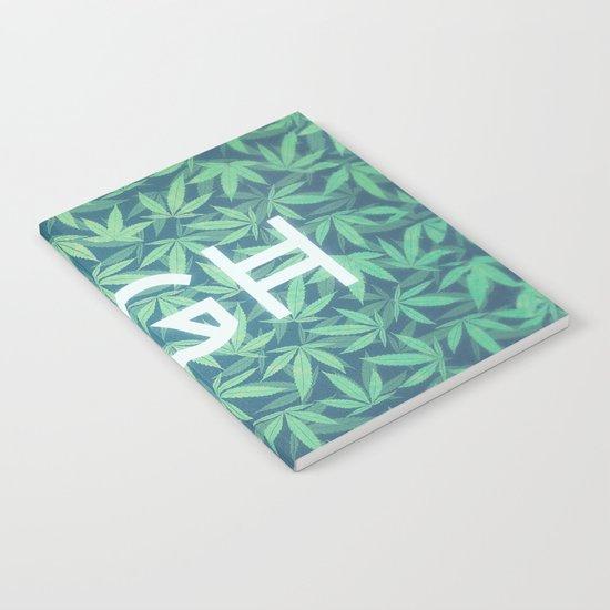 HIGH TYPO! Cannabis / Hemp / 420 / Marijuana  - Pattern Notebook