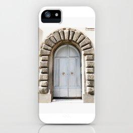 Doors of Rome, Blue dream iPhone Case