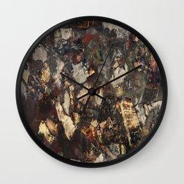 Mental Caverns  Wall Clock
