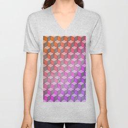 Geometric 3 Unisex V-Neck