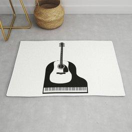 Piano and Guitar Rug