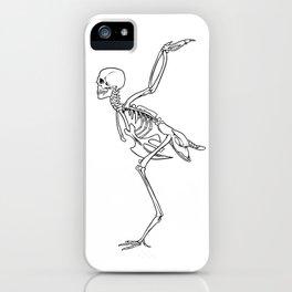 Harpy Skeleton iPhone Case