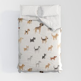 Lots of Cute Doggos Comforters