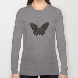 Elephant Butterfly Long Sleeve T-shirt