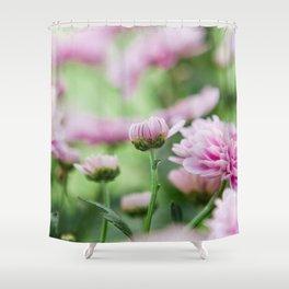 Mum Season in Purple Shower Curtain