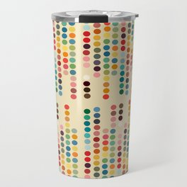 RetroDots Travel Mug