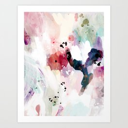 fuzzy feeling Art Print