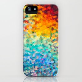 Holographic Pixelation iPhone Case