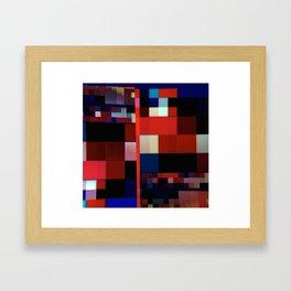 Patchwork VI Framed Art Print