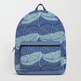 Boho Art Deco Indigo Backpack