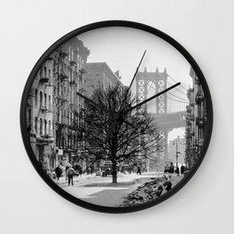 Brooklyn Growth Wall Clock