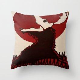 Wendigo Throw Pillow