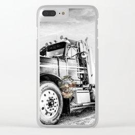 American Trucker Clear iPhone Case