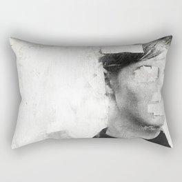Faceless   number 01 Rectangular Pillow