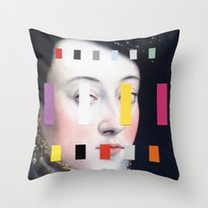 Portrait With A Spectrum 4 Throw Pillow