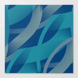 Riptide - Abstract Canvas Print