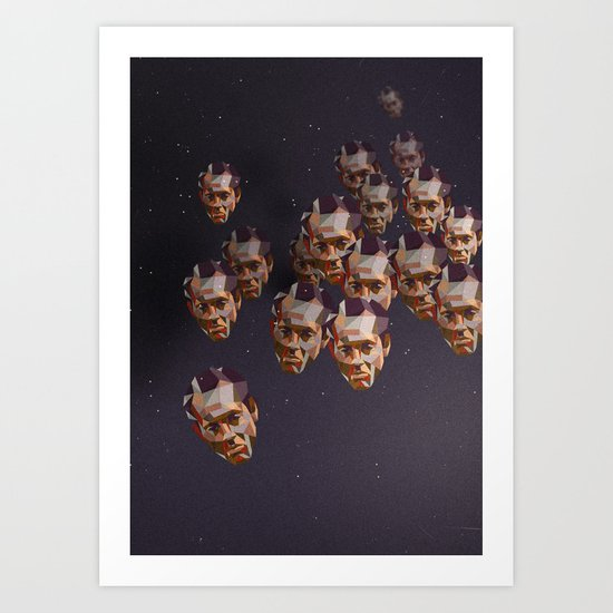 A head of the pack Art Print