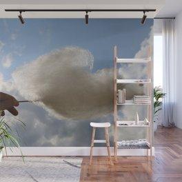 Sugar Cloud Wall Mural