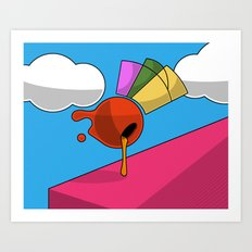 Colour Blob #2 Art Print
