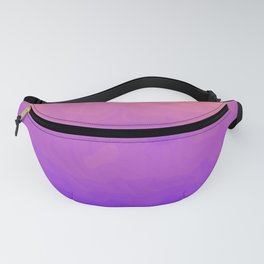 Pink and Purple Ombre - Swirly Fanny Pack